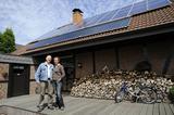 Heizung mit: Gas, Solarwärme, Holz